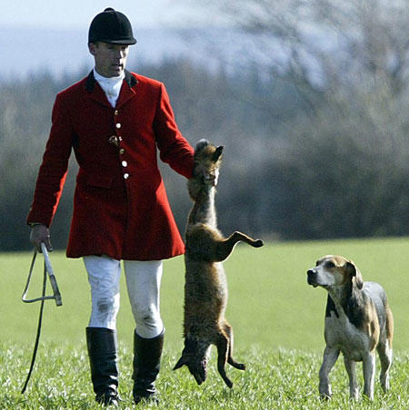 Anonymous Target Prodigy Frontman For Allegedly Hunting Animals fox hunting pic pa 161062217