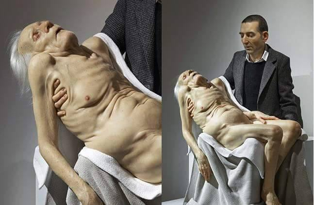 These Giant Human Like Sculptures Are F*cking Mindblowing giant 15
