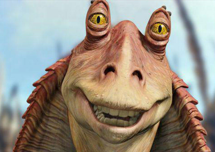 This Jar Jar Binks Fan Theory Changes EVERYTHING About Star Wars jar jar featured