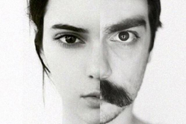 Man Claiming To Be Kendall Jenner's Twin Expertly Photoshops Himself Into Her Photos