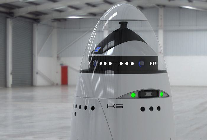 Meet The Worlds First Police Robot k5