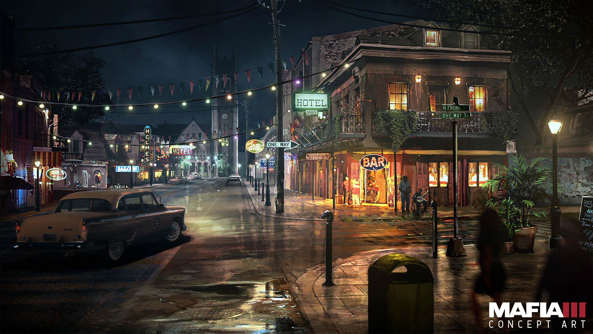 Check Out Every Awesome Piece Of Mafia 3 Concept Art Released mafia3 french quarter