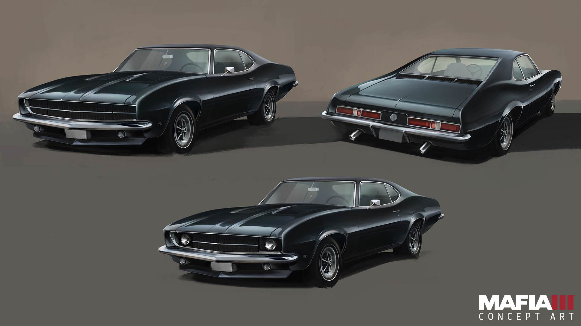 Check Out Every Awesome Piece Of Mafia 3 Concept Art Released mafia3 lincolns muscle car artwork