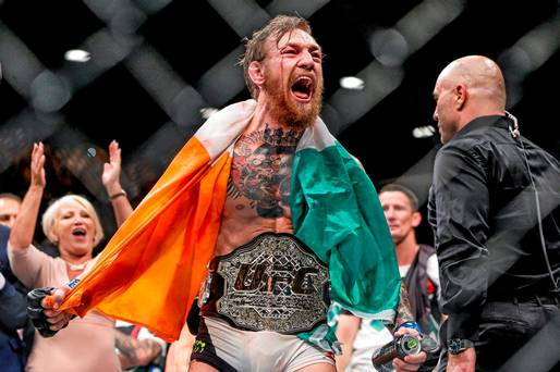 UFC Champion Conor McGregor Responds To Floyd Mayweathers Racism Comments mcgregor mayweather 2