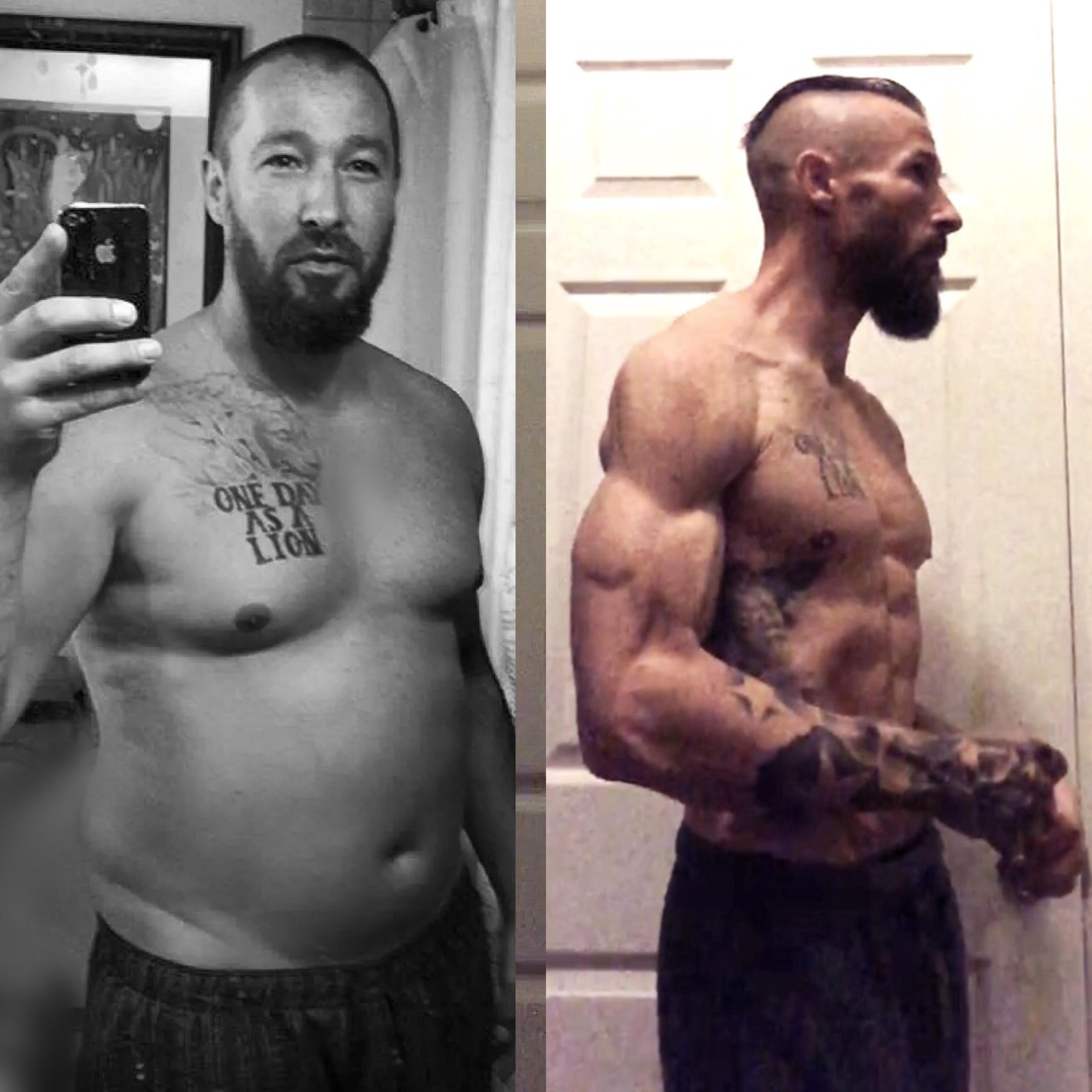 Dad Drops 70lbs To Become A Shredded MMA Fighter After Divorce mnoHHO7