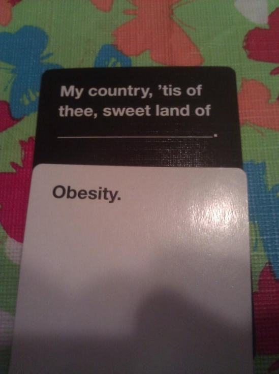 Are These The Most Offensive Cards Against Humanity Answers Possible? murica photo u1