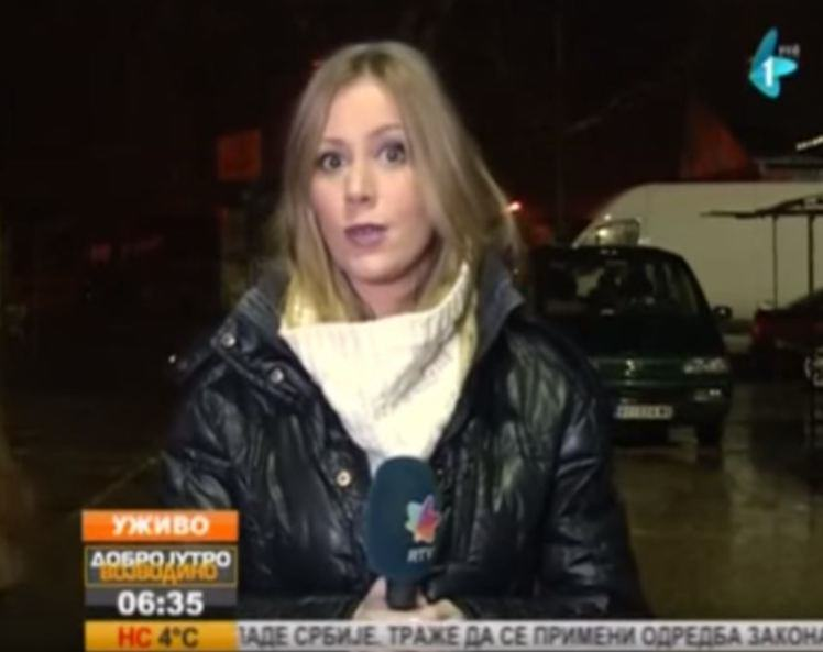Man Waves Gun In Front Of Live TV Reporter, She Just Carries On Anyway news1 1