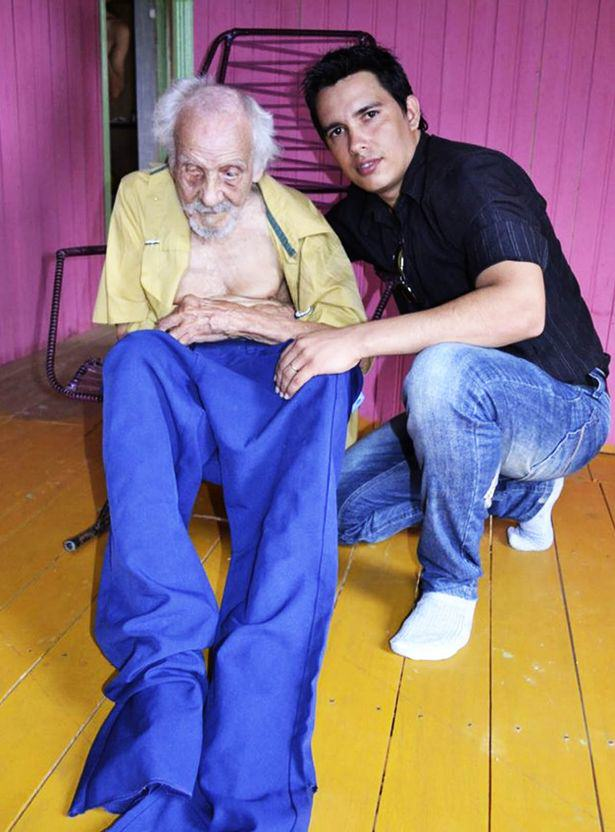 Worlds Oldest Man Discovered Living With Woman Half His Age oldest man 1