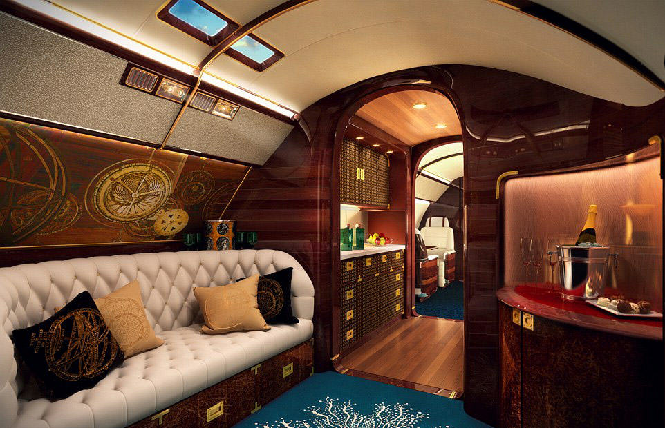 This Plane/Boat Hybrid Luxury Private Jet Is Absolutely Ridiculous plane 2