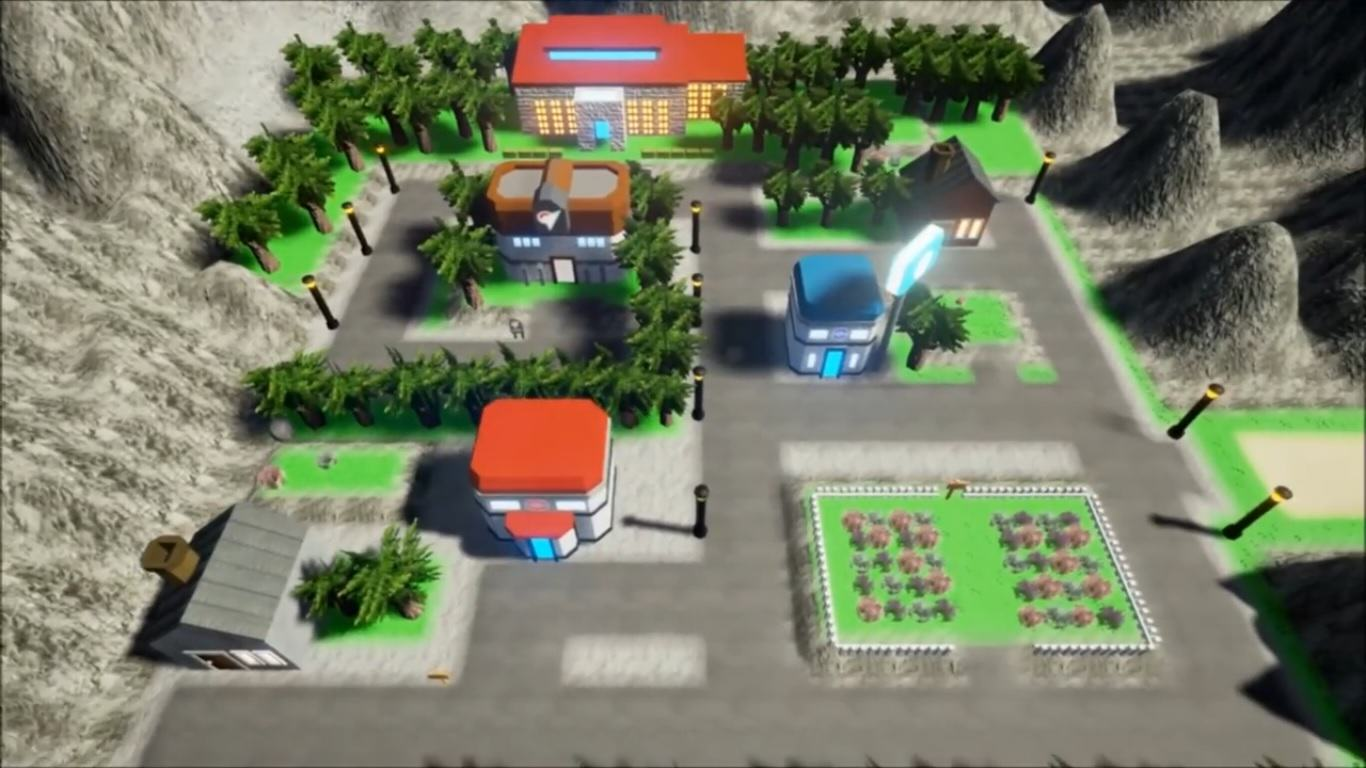 Somebody Has Remade The Original Pokemon Map In Unreal Engine 4