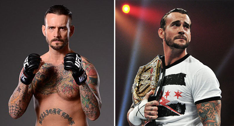 CM Punks First UFC Opponent Has Just Been Announced punk opponent FB