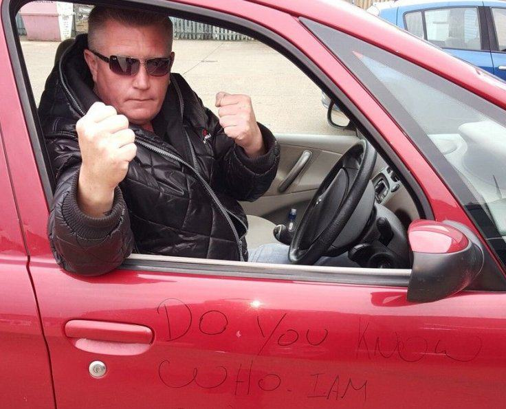 Ronnie Pickering Moped Driver Is At It Again In New Road Rage Video ronnie2