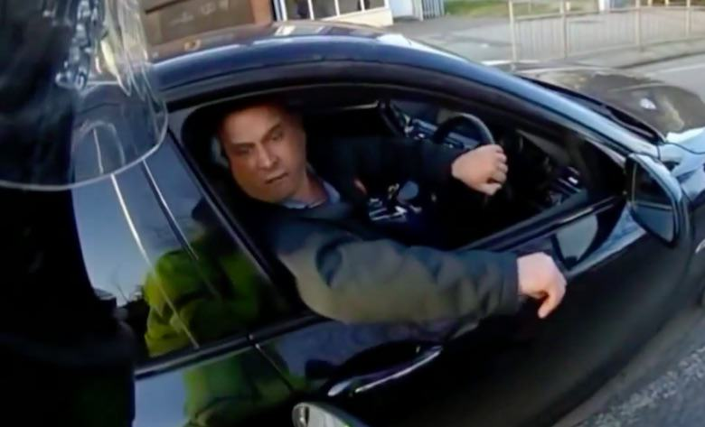 Ronnie Pickering Moped Driver Is At It Again In New Road Rage Video ronnie7