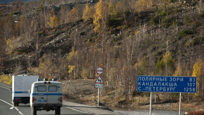 Russian Official Accused Of Literal Highway Robbery russian road 2