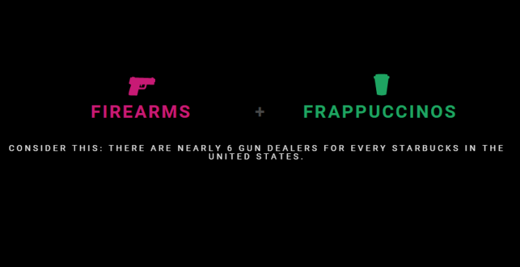 Its Easier To Buy A Gun Than A Frappuccino In The US safer america