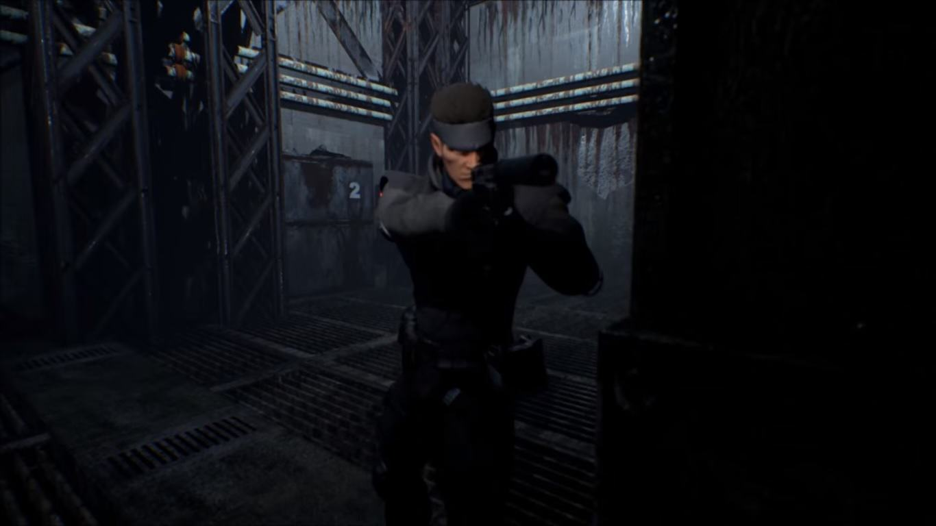This Stunning Metal Gear Remake Might Not Be Around For Long snake