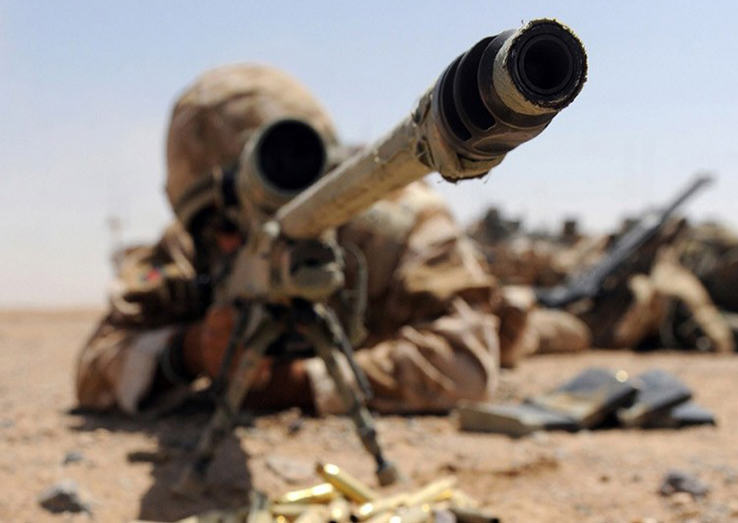 Sniper Breaks Record For Longest Confirmed Kill Shot In History Against ISIS Fighter