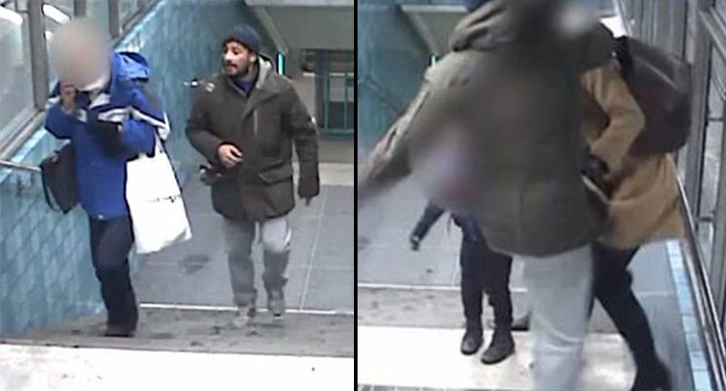 Thief Punches And Spits On Mother After She Stops Him Stealing From Elderly Woman sweden attack WEB 2