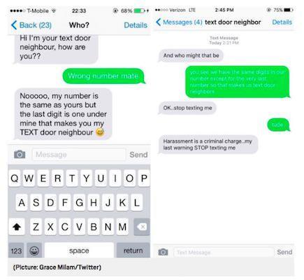 People Are Contacting Their Text Door Neighbours And Its All A Bit Confusing text1