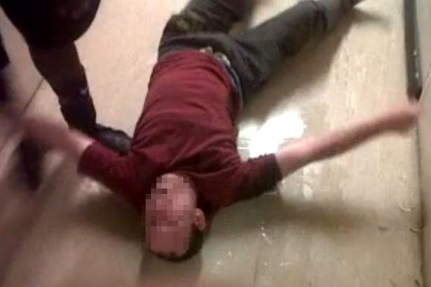 Shocking Footage Shows Prisoner In Agony After Being Force Fed Legal Highs the people 1