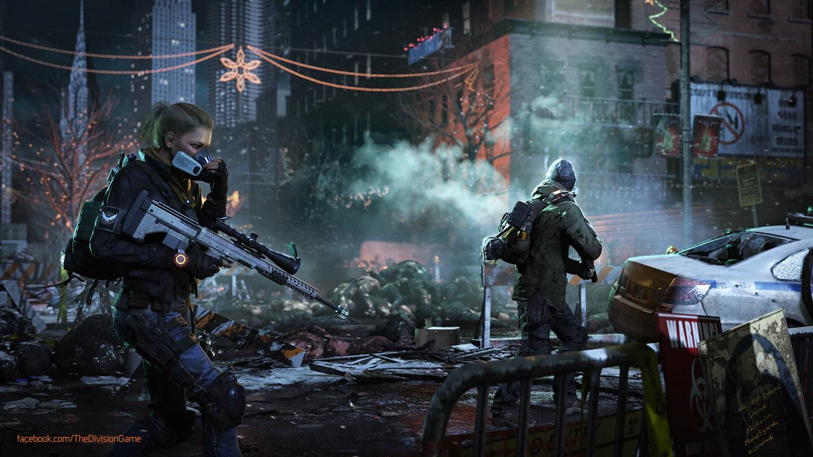 Ubisoft Confirm The Division Closed Beta Will Begin This Month the division