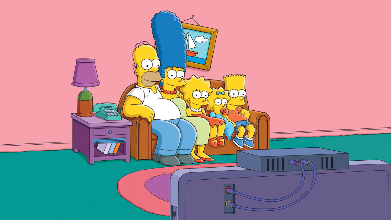 The Simpsons Go Retro In 80s Action Movie Homage For New Couch Gag the simpsons couch a l