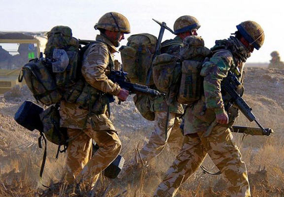 British Soldiers Who Fought In Iraq Could Face War Crimes Prosecution troops iraq WEB