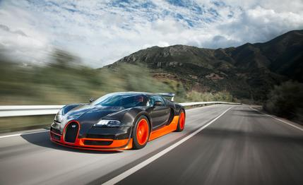 The New Bugatti Chiron Can Hit 290 Miles An Hour And It Looks Incredible veyron1