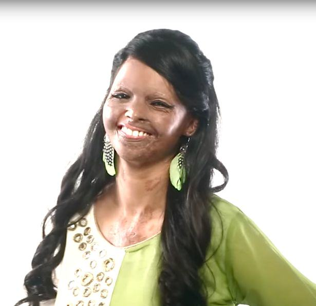 An Acid Attack Victim Has Now Become The Face Of A Fashion Brand viva2