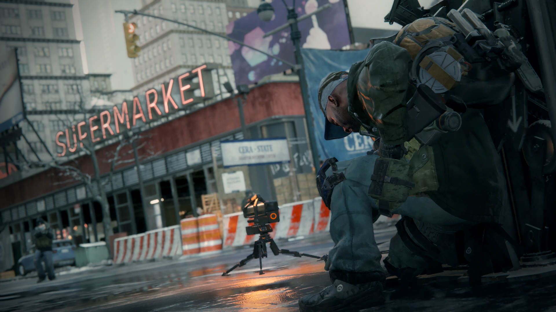 Ubisoft Confirm The Division Wont Have Microtransactions 2917756 tctd screen turret e3 150615 4pm pt 1438694639