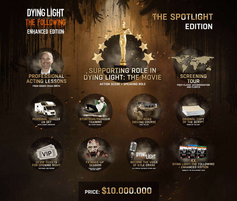 Dying Light: The Following Collectors Edition Costs £6.9 million 3004913 dl1
