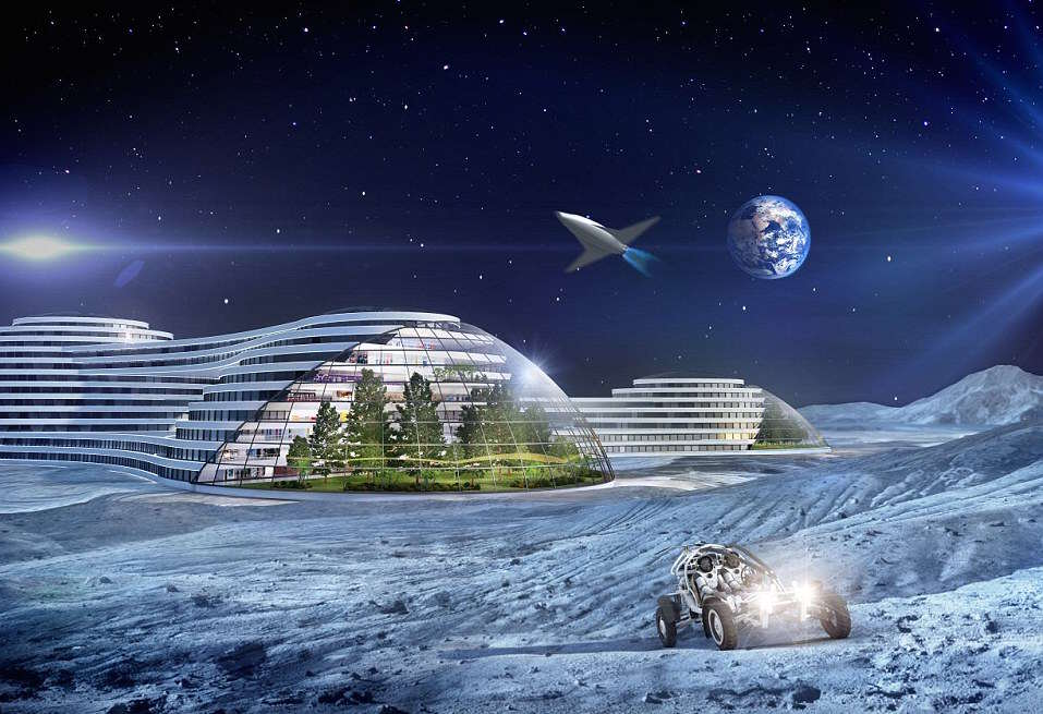 This Is What Life Will Be Like In 2116, Apparently 3130B2CE00000578 3446968 The colonisation of the Moon and then Mars will have taken place a 4 1455490616552