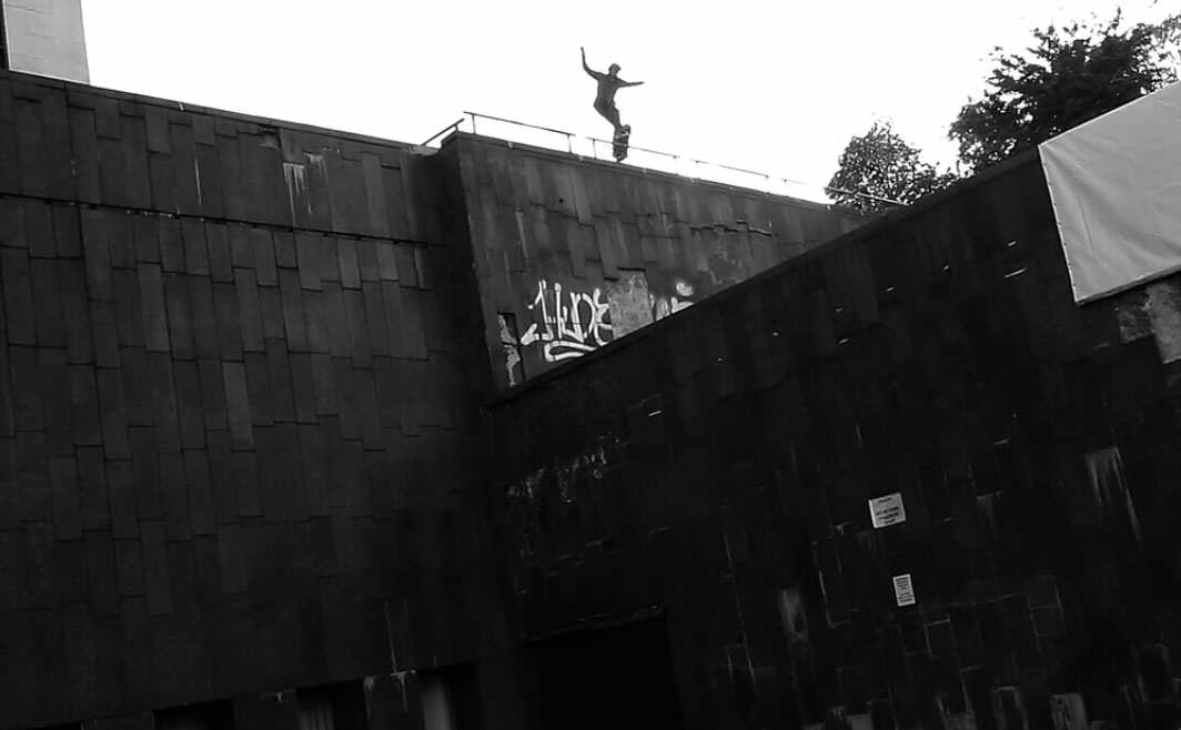 Skateboarder Posts Video Of Death Defying Grinds On Edge Of Buildings 4