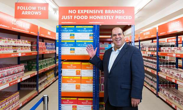 EasyJet Founder Opens Cut Price Food Store Where Everything Is 25p 5749 1