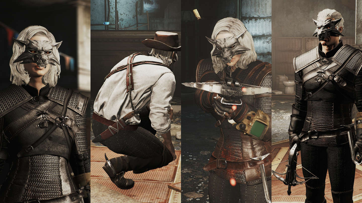 Awesome Fallout 4 Mod Brings In Gear From The Witcher 3 9519 0 1454690913