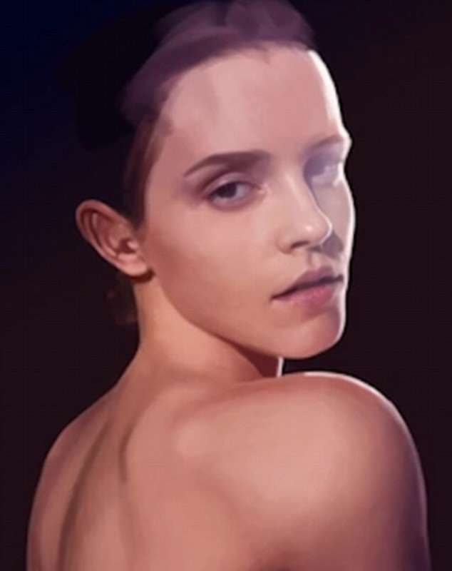Theres Something Very Different About This Picture Of Emma Watson Emma 3 634x800