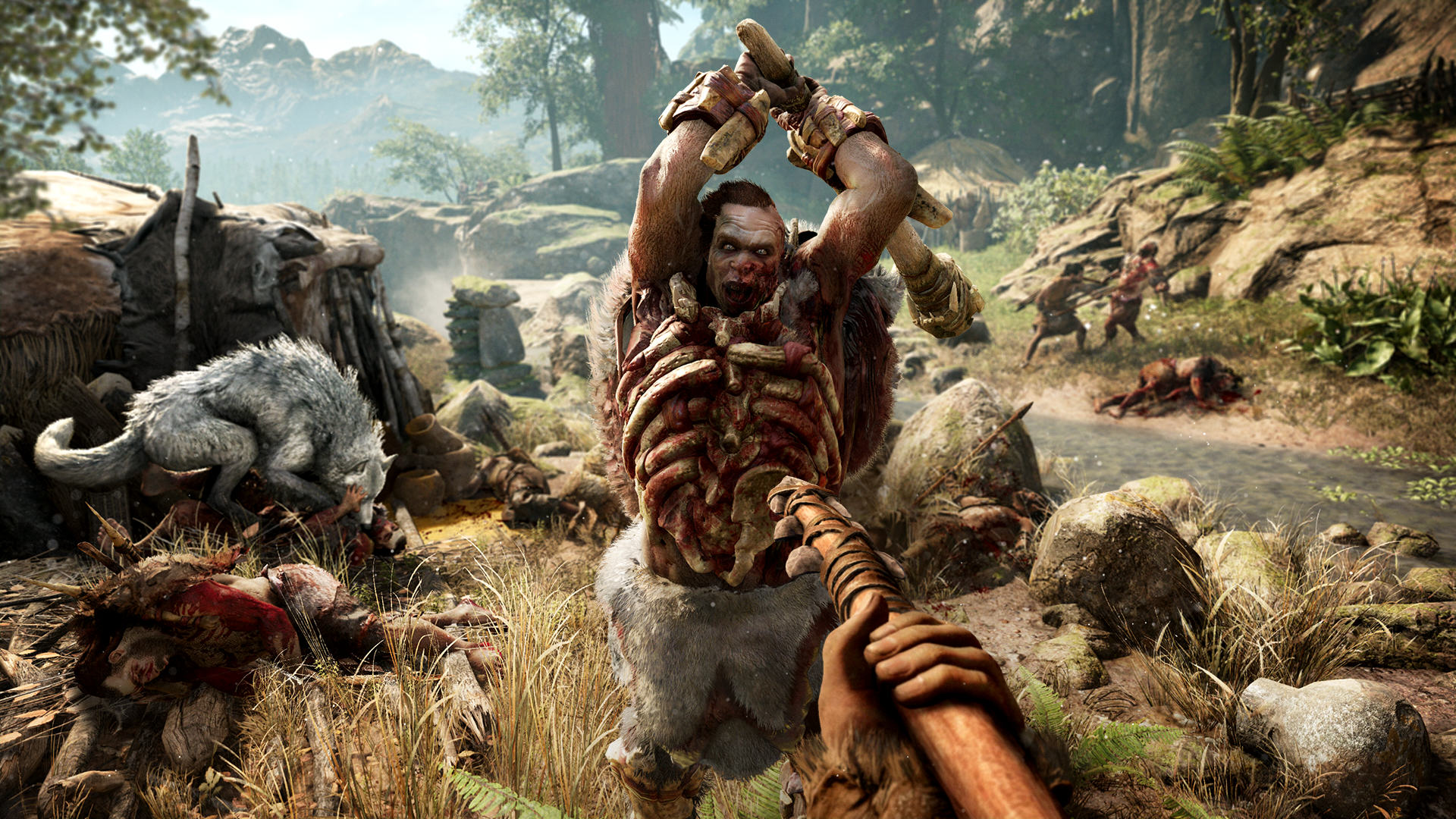 Far Cry Primal Is Shameless Pre Historic Fun, If A Little Shallow FCP 09 Udam Attack Screenshots PREVIEW PR 160126 6pm CET 1453716692