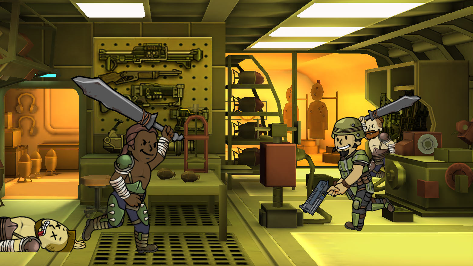 Bethesda Confirm More Mobile Games After Success Of Fallout Shelter FalloutRaiders