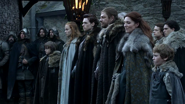 Game of Thrones Pilot Starks