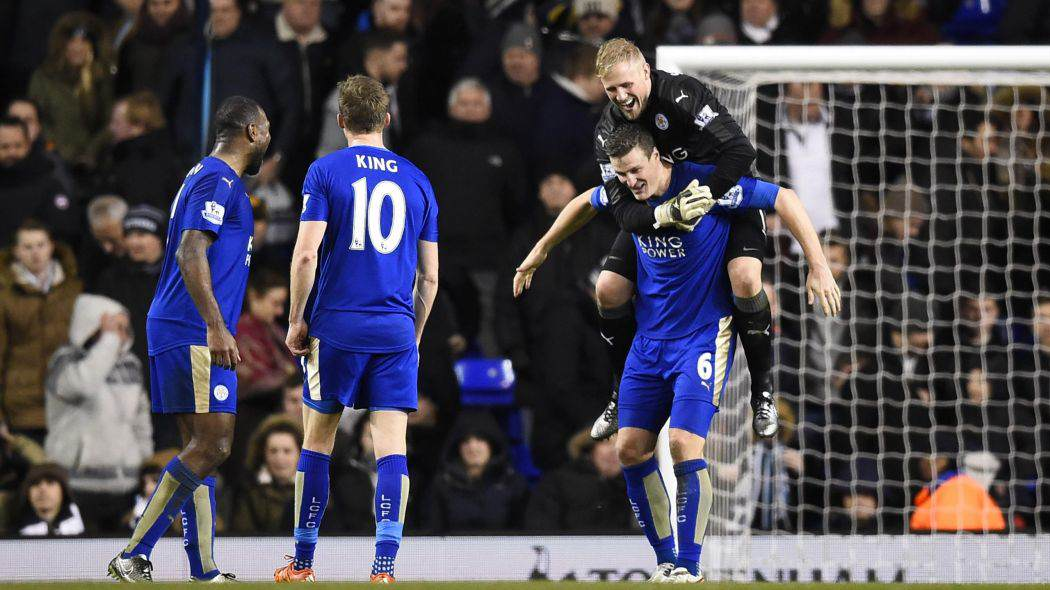 Five Reasons Leicester City CAN Win The Premier League Huth Celebration