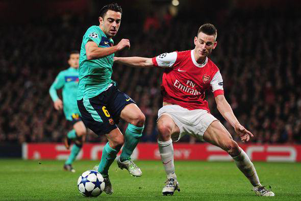 Five Arsenal Players Who Can Give Them Hope Against Barcelona Koscielny