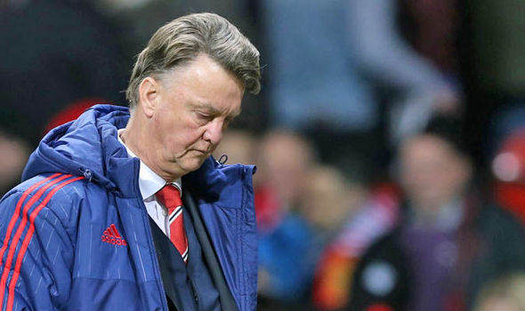 Five Ways Manchester United Can Spare Their Blushes Tonight LVG sad Express