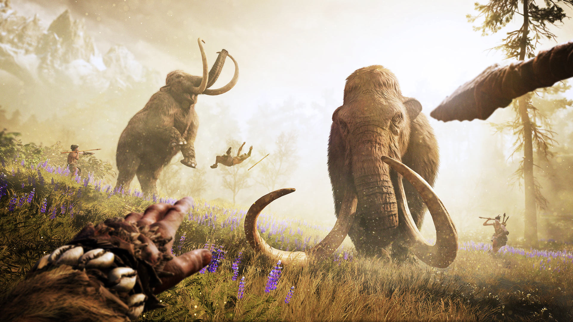 Far Cry Primal Is Shameless Pre Historic Fun, If A Little Shallow Mammoth Hunt GOLD 1080p 221522