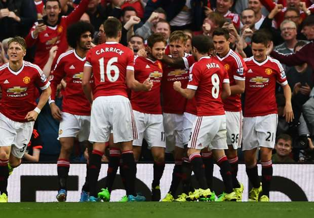 Five Ways Manchester United Can Spare Their Blushes Tonight Man U celebration Goal
