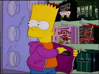 Idiot Steals Rare Games, Tries To Sell Them To Local Store Marge Be Not Proud Stealing1