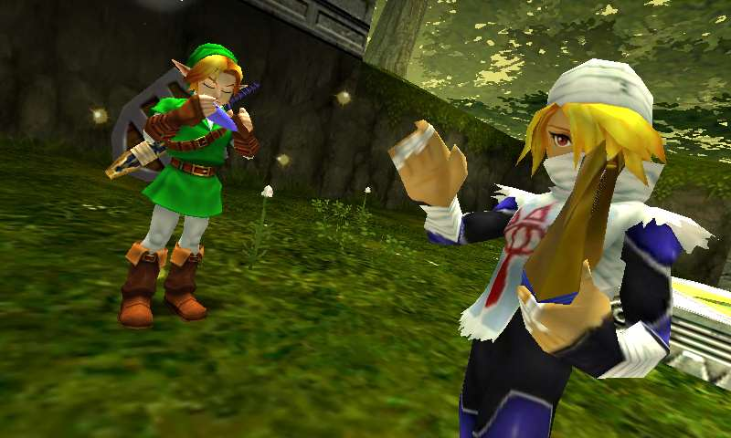 The Ten Greatest Zelda Games Of All Time Ocarina 3D Sheik
