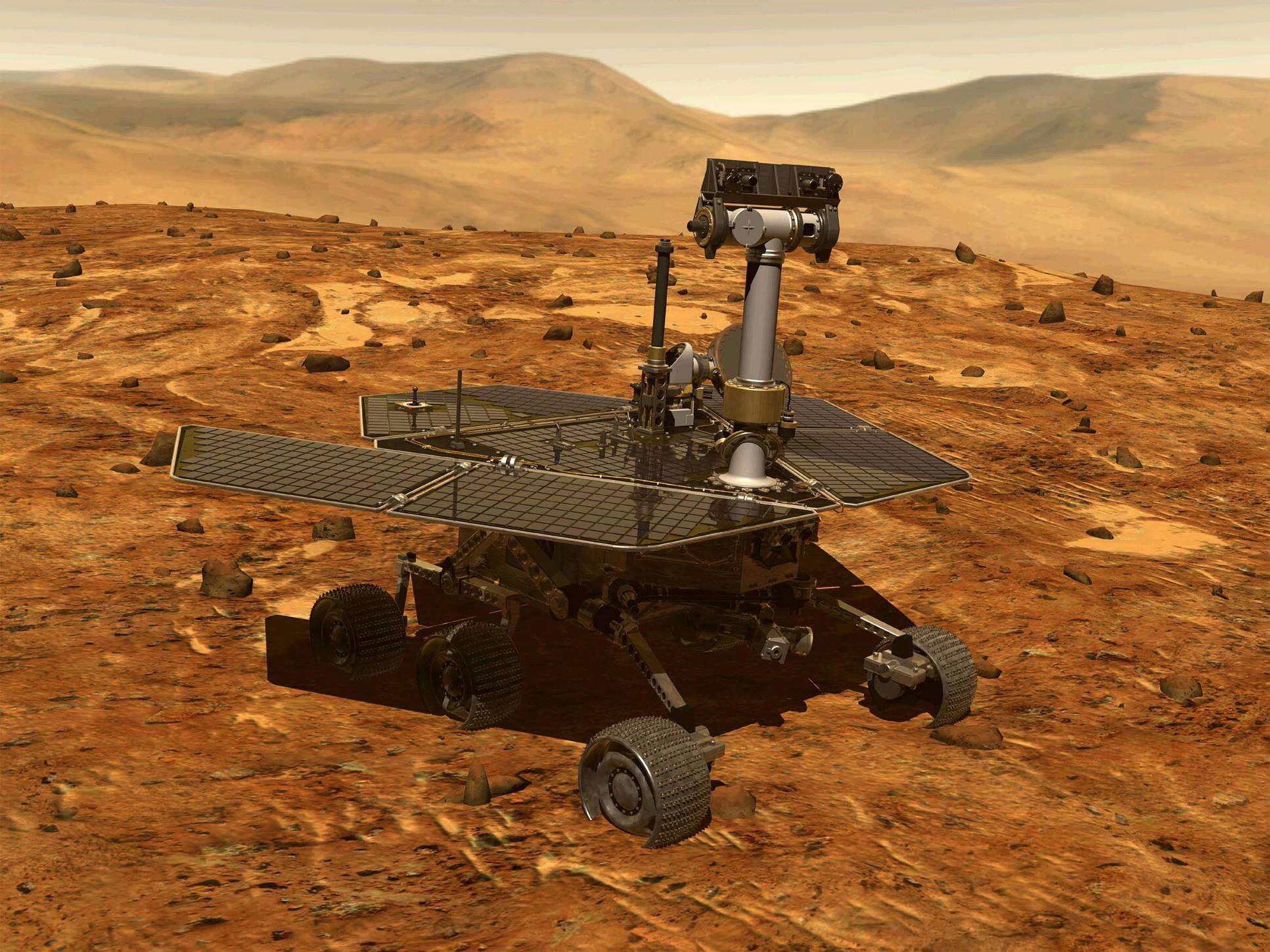 NASA Mars Rover Spots First Signs Of Ancient Aliens PA 1856866