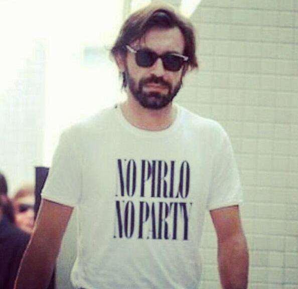 Five Of Footballs Most Loveable Guys Pirlo shirt