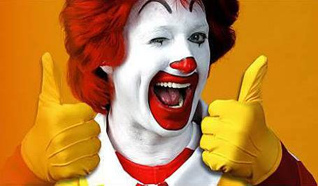 This New McDonalds Breakfast Sandwich Could Come To The UK Very Soon Ronald McDonald thumbs up