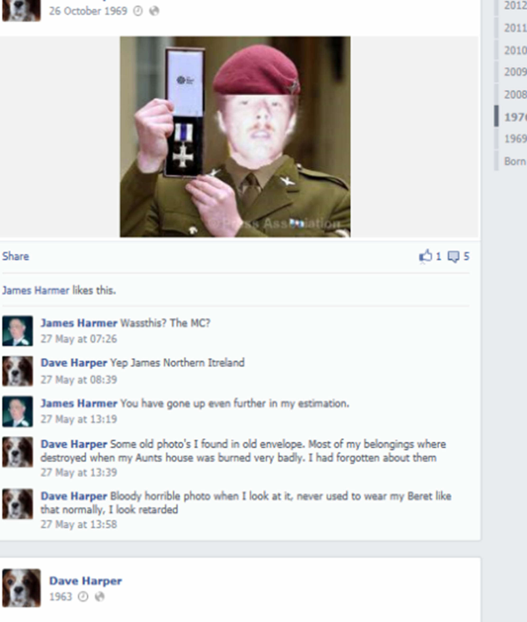 Guy Pretended He Was Soldier With This Terrible Photoshopped Photo SWNS FAKER 005 1
